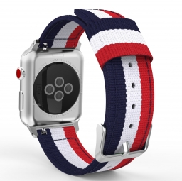 TECH-PROTECT WELLING APPLE WATCH 1/2/3/4 (42/44MM) NAVY/RED