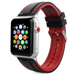 TECH-PROTECT FENDY APPLE WATCH 1/2/3/4 (42/44MM) BLACK/RED