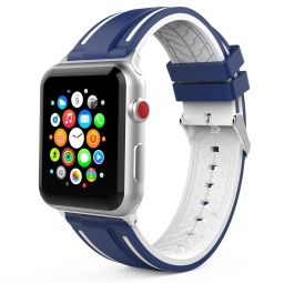TECH-PROTECT FENDY APPLE WATCH 1/2/3/4 (42/44MM) NAVY/WHITE