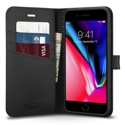 SPIGEN WALLET S IPHONE 7/8 PLUS BLACK