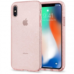 SPIGEN LIQUID CRYSTAL IPHONE X/10 GLITTER ROSE