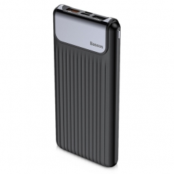 BASEUS THIN DIGITAL POWER BANK 10000MAH BLACK