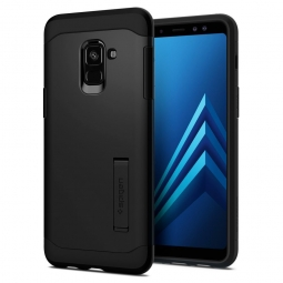 SPIGEN SLIM ARMOR GALAXY A8 2018 BLACK