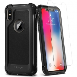 SPIGEN PRO GUARD IPHONE X/10 GUNMETAL