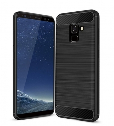 TECH-PROTECT TPUCARBON SAMSUNG A8 2018 BLACK