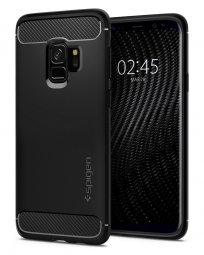 SPIGEN RUGGED ARMOR GALAXY S9 MATTE BLACK