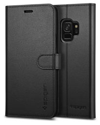 SPIGEN WALLET S GALAXY S9 BLACK