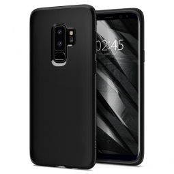 SPIGEN LIQUID CRYSTAL GALAXY S9+ PLUS MATTE BLACK