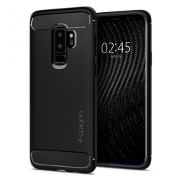 SPIGEN RUGGED ARMOR GALAXY S9+ PLUS MATTE BLACK