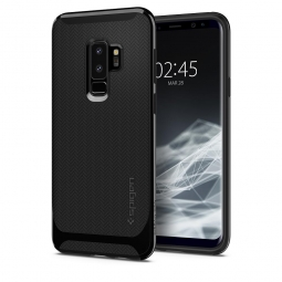 SPIGEN NEO HYBRID GALAXY S9+ PLUS SHINY BLACK