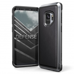 X-DORIA DEFENSE LUX GALAXY S9 BLACK LEATHER