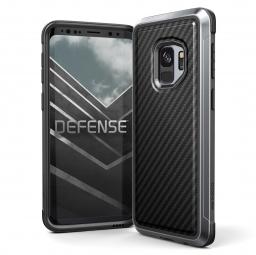X-DORIA DEFENSE LUX GALAXY S9 BLACK CARBON