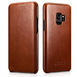 ICARER VINTAGE GALAXY S9 BROWN