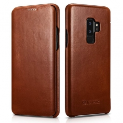 ICARER VINTAGE GALAXY S9+ PLUS BROWN