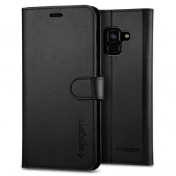 SPIGEN WALLET S GALAXY A8 2018 BLACK