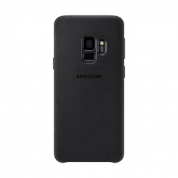 SAMSUNG ALCANTARA COVER GALAXY S9 BLACK