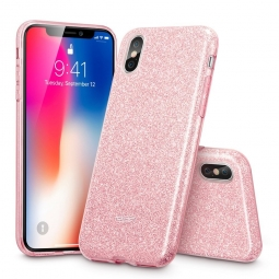 ESR GLITTER SHINE IPHONE X/10 ROSE GOLD