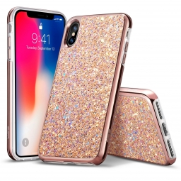 ESR SPARKLY SEQUINS IPHONE X/10 ROSE GOLD