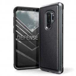 X-DORIA DEFENSE LUX GALAXY S9+ PLUS BLACK LEATHER