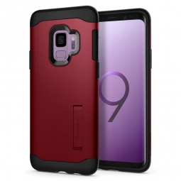 SPIGEN SLIM ARMOR GALAXY S9 MERLOT RED