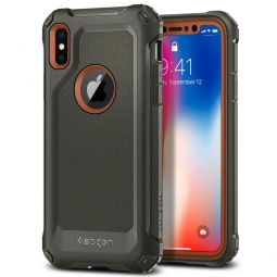 SPIGEN PRO GUARD IPHONE X/10 ARMY GREEN