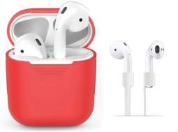 TECH-PROTECT SET AIRPODS RED
