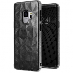 RINGKE PRISM AIR GALAXY S9 GLITTER GRAY