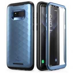 SUPCASE CLAYCO HERA GALAXY S8 BLUE