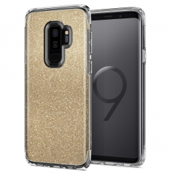 SPIGEN SLIM ARMOR GALAXY S9+ PLUS GLITTER GOLD