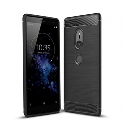 TECH-PROTECT TPUCARBON SONY XPERIA XZ2 BLACK