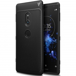 TECH-PROTECT TPULEATHER SONY XPERIA XZ2 BLACK