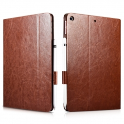 ICARER XOOMZ IPAD 9.7 2017/2018 DARK BROWN