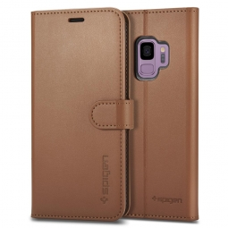 SPIGEN WALLET S GALAXY S9 COFFEE BROWN