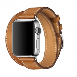 TECH-PROTECT LONGHERMS APPLE WATCH 1/2/3/4 (42/44MM) BROWN