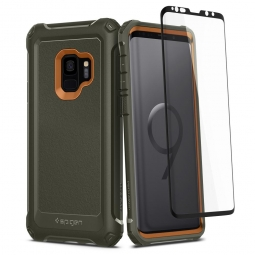 SPIGEN PRO GUARD GALAXY S9 ARMY GREEN
