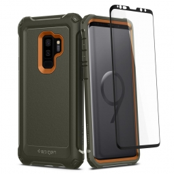 SPIGEN PRO GUARD GALAXY S9+ PLUS ARMY GREEN