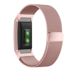 TECH-PROTECT MILANESEBAND FITBIT CHARGE 2 ROSE GOLD