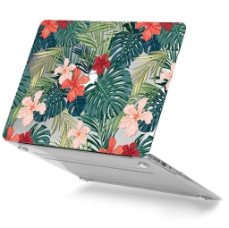 TECH-PROTECT SMARTSHELL MACBOOK AIR 13 TROPICAL PLANTS