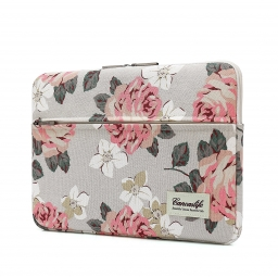 CANVASLIFE SLEEVE MACBOOK AIR/PRO 13 WHITE ROSE