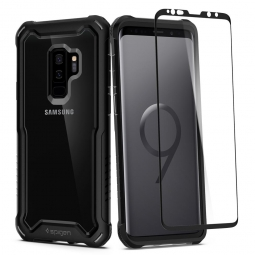 SPIGEN HYBRID 360 GALAXY S9+ PLUS BLACK