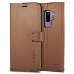 SPIGEN WALLET S GALAXY S9+ PLUS COFFEE BROWN