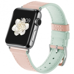 TECH-PROTECT CANDYBAND APPLE WATCH 1/2/3/4 (42/44MM) PINK/MINT