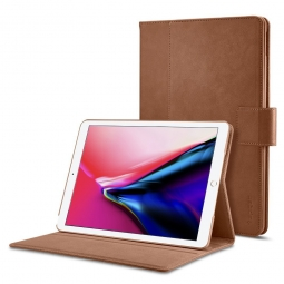SPIGEN STAND FOLIO IPAD 9.7 2017/2018 BROWN