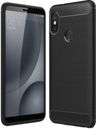 TECH-PROTECT TPUCARBON XIAOMI REDMI S2 BLACK
