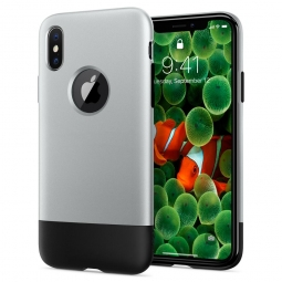 SPIGEN CLASSIC ONE IPHONE X/10 ALUMINUM GRAY