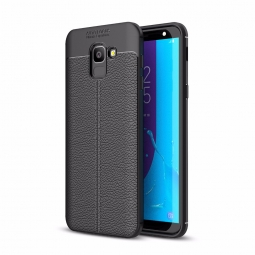 TECH-PROTECT TPULEATHER GALAXY J6 2018 BLACK