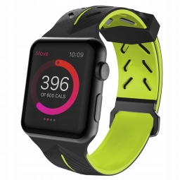 TECH-PROTECT ACTION APPLE WATCH 1/2/3/4 (42/44MM) BLACK/LIME