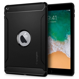 SPIGEN RUGGED ARMOR IPAD 9.7 2017/2018 BLACK