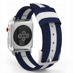 TECH-PROTECT WELLING APPLE WATCH 1/2/3/4 (42/44MM) NAVY/WHITE