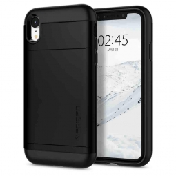 SPIGEN SLIM ARMOR CS IPHONE XR BLACK